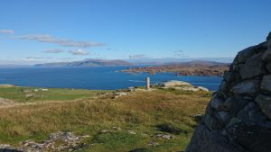 View from top of Iona