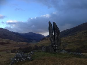 Praying Hands of Mary - Glen Lyon