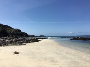 West side of Iona beach