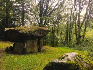Wood dolmen